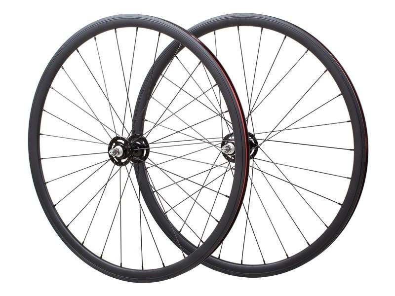 Wheelset Fixie Novatec Black