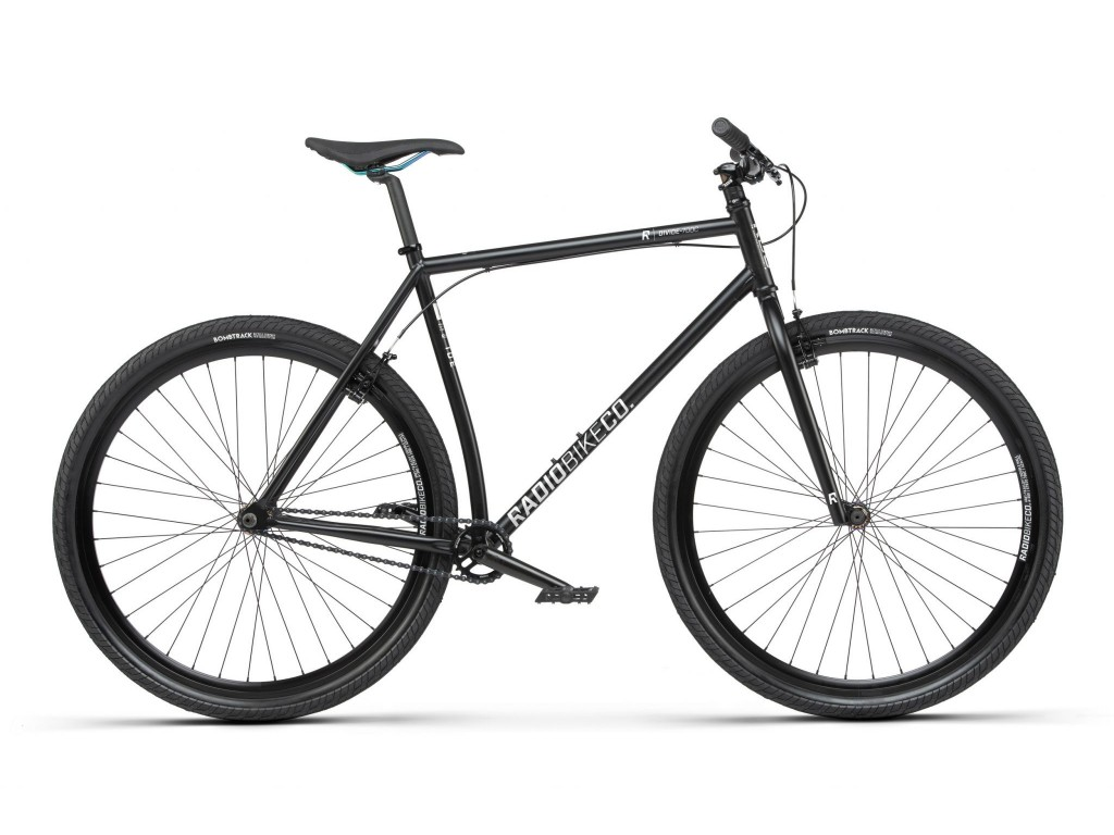 Urban Bike Radio DIVIDE Black